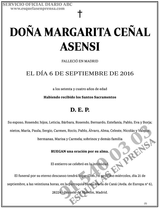 Margarita Ceñal Asensi
